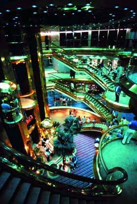 Bahamas Cruise Ship Interior